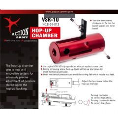 Action Army Complete Hop-Up Chamber for Airsoft VSR10 & 11